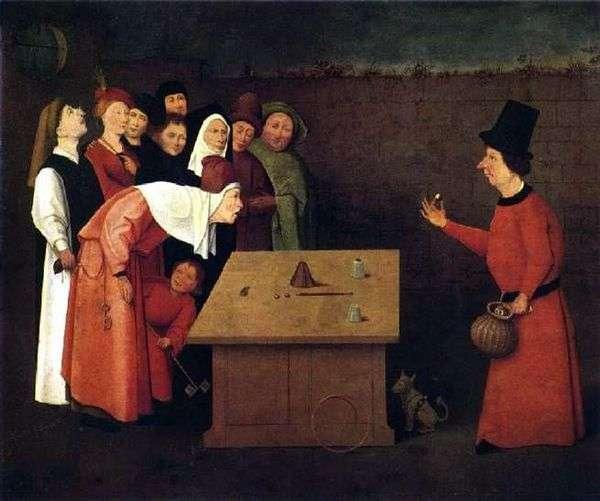 マジシャンクワック   Hieronymus Bosch