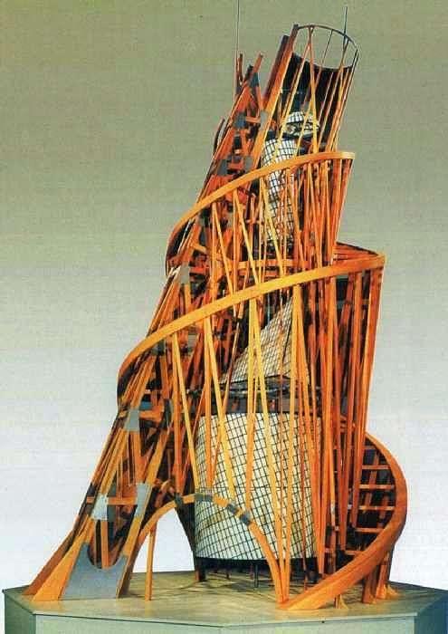 タワー III国際への記念碑のモデル   ウラジミールタットリン