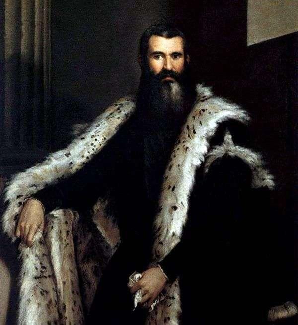 Daniele Barbaro   Paolo Veroneseの肖像