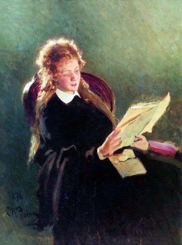 読書の女の子   Ilya Repin