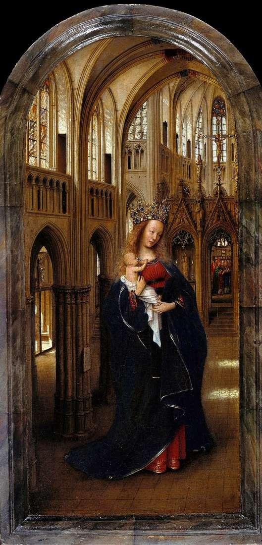 教会のマドンナ   Jan van Eyck