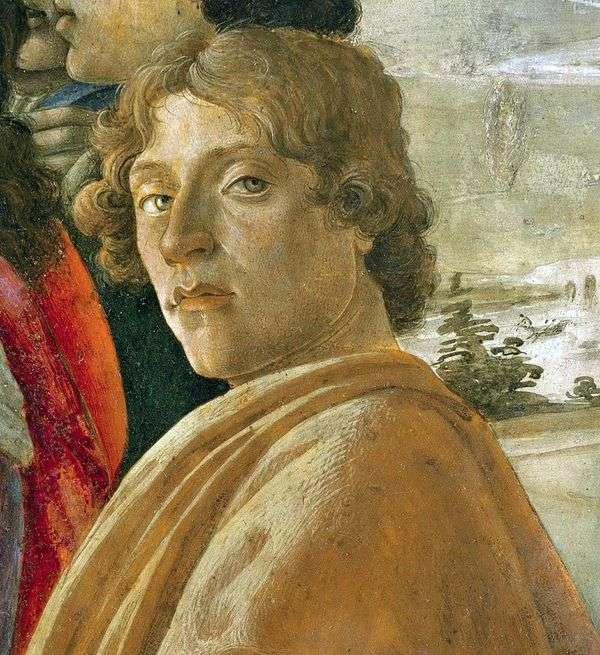 自画像   サンドロ・ボッティチェリ