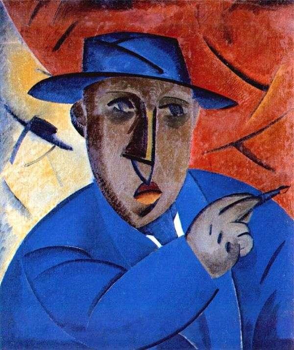 芸術家の肖像   ウラジミールタットリン