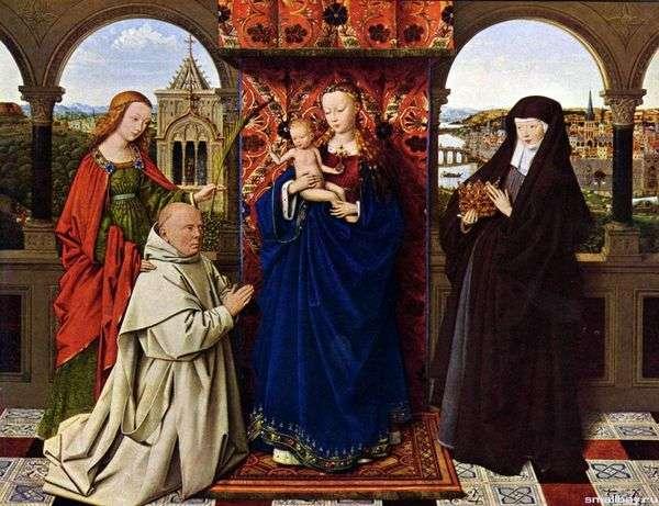 カルトゥー教の僧侶   Jan van Eyckとマドンナ