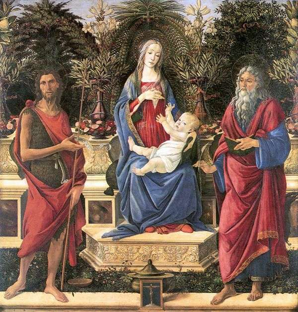 バルディの祭壇   Sandro Botticelli