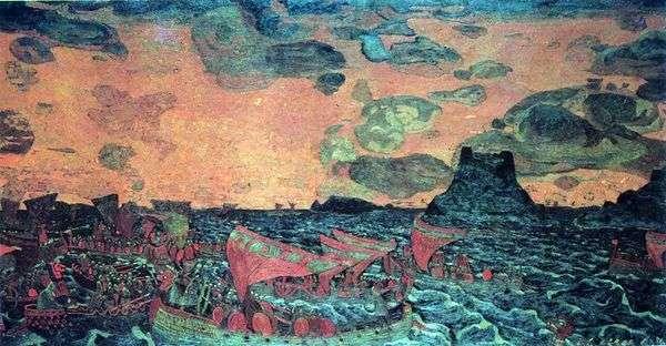 の戦い   Nicholas Roerich