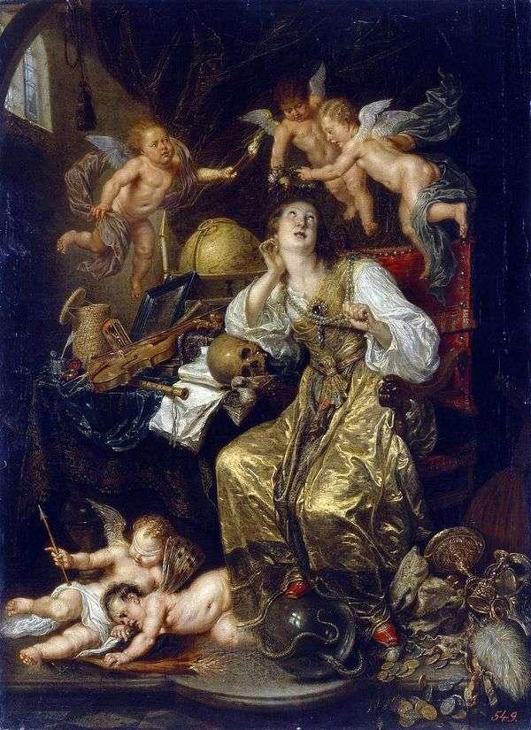 忠誠のアレゴリー(信仰のアレゴリー)   David Teniers
