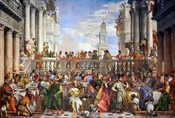 カナの結婚式   パオロヴェロネーゼ