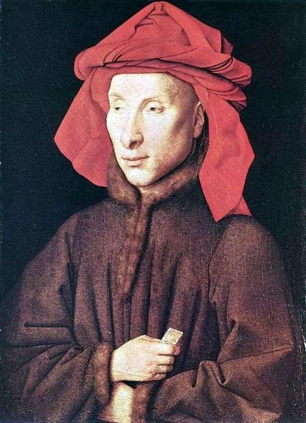 Giovanni Arnolfini   Jan van Eyckの肖像