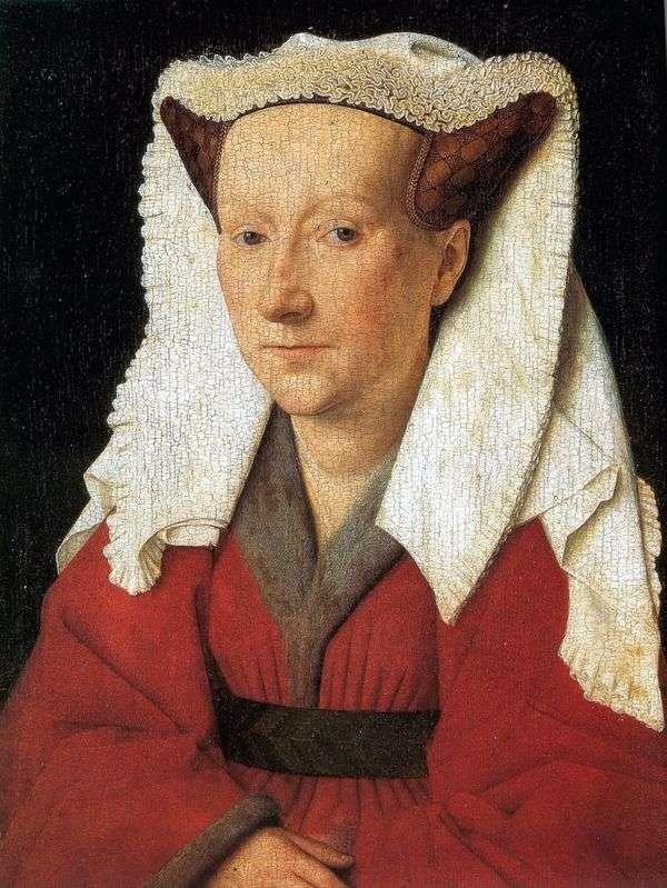 Margret van Eyckの妻の肖像   Jan van Eyck