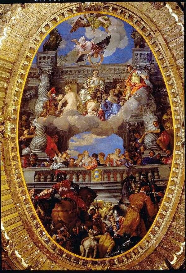 ヴェネツィアの勝利   パオロ・ヴェロネーゼ