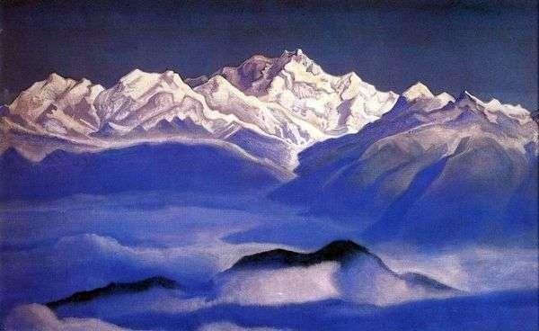 ヒマラヤ(ブルーマウンテンズ)   Nicholas Roerich