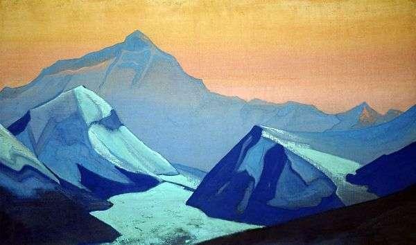 ヒマラヤエベレスト   Nicholas Roerich
