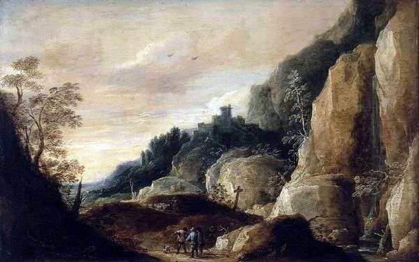 山の風景   David Teniers