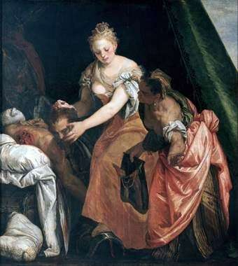 Holofernesの殺害   パオロ・ヴェロネーゼ