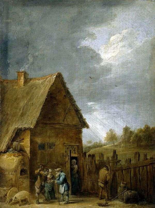 農民の家   David Teniers