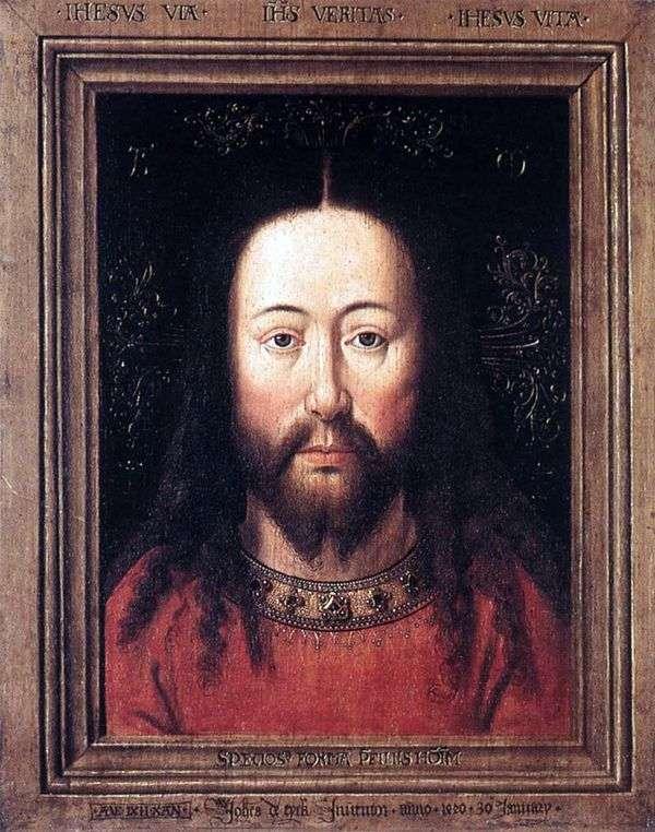 キリストの肖像   Jan van Eyck