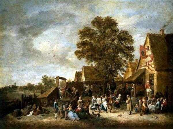 ビレッジホリデー   David Teniers