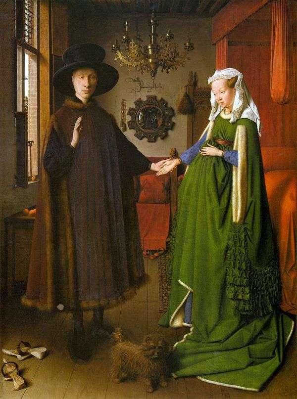 Arnolfiniカップル   Jan van Eyckの肖像
