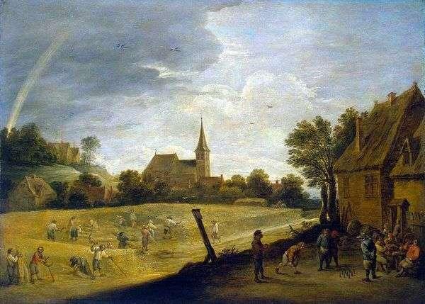 収穫(夏)   David Teniers