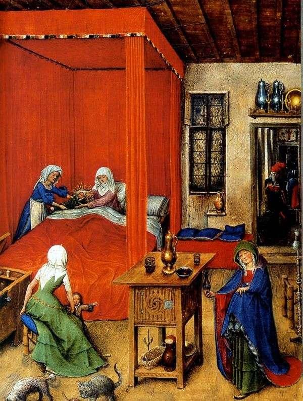 洗礼者ヨハネの誕生   Jan van Eyck