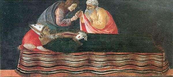 聖イグナチオの中心部を抽出する   Sandro Botticelli