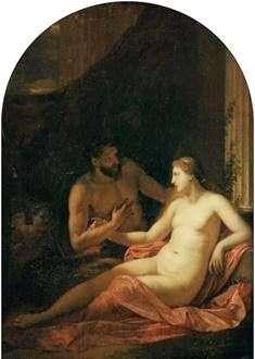 Hercules and Dejanira   エイドリアン・ファン・デル・ヴェルフ