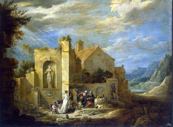 聖アントニウスの誘惑   David Teniers