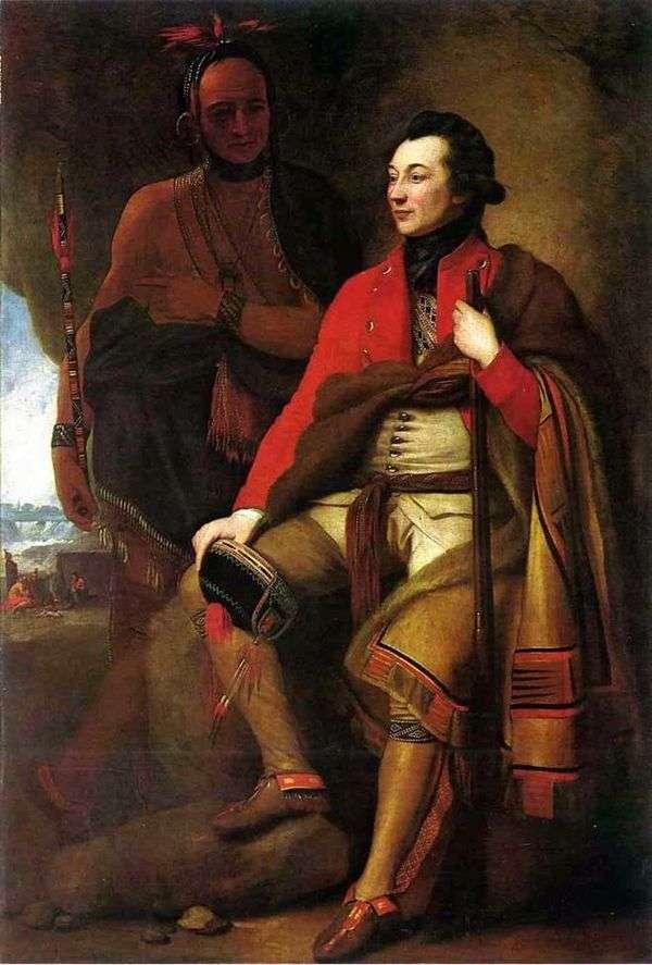 大佐ガイジョンソン   ベンジャミン西の肖像画