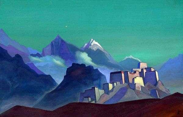 朝の星   Nicholas Roerich