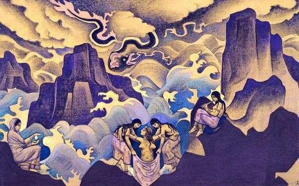 古代の蛇   Nicholas Roerich