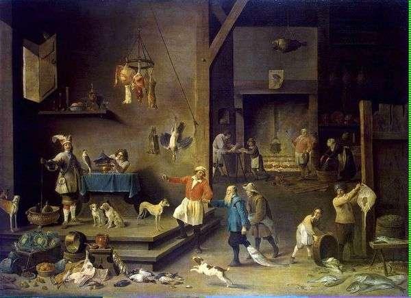 キッチン   David Teniers