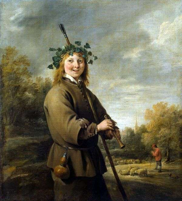カウガールアンドカウガール   David Teniers