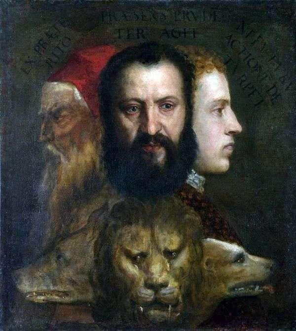 慎重さの寓意   Titian Vecellio