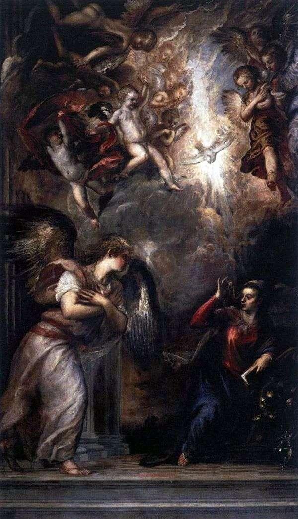 受胎告知   Titian Vecellio