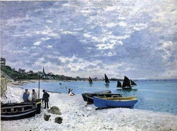 St. Adresa   Claude Monetのビーチ