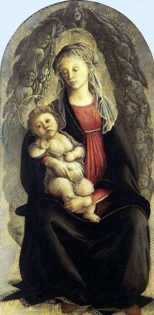 Madonna in glory   サンドロ・ボッティチェリ