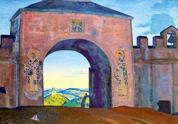 そして我々は門を開く   Nicholas Roerich