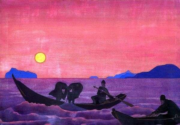 そして私たちは釣りを続けています   Nicholas Roerich