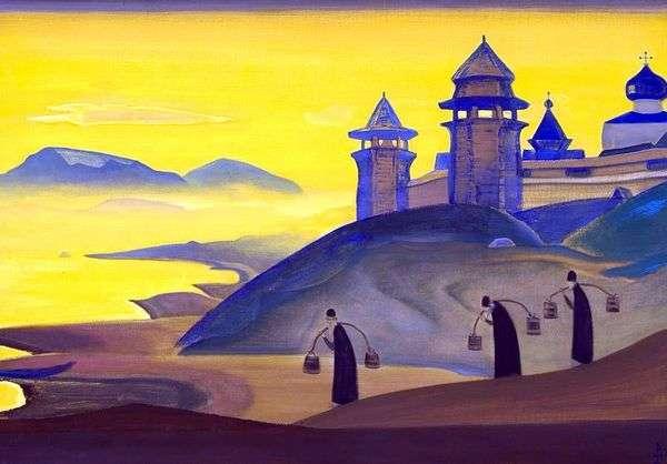 そして私達は働きます   Nicholas Roerich