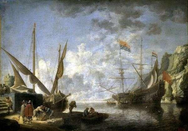 シーサイドハーバー   David Teniers