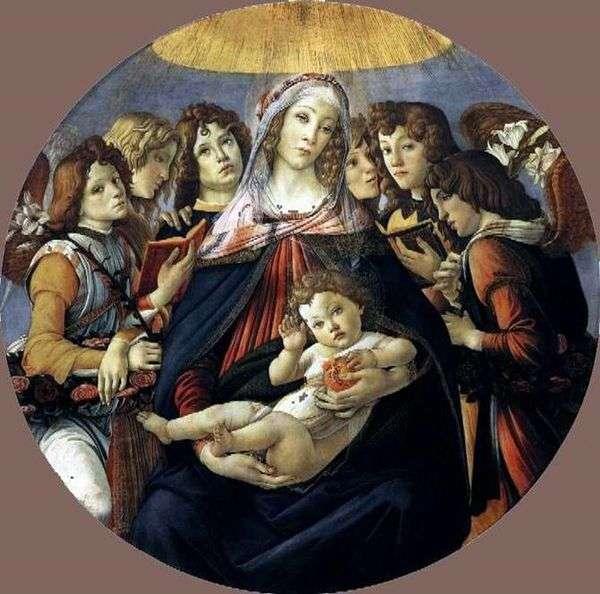 ザクロとマドンナ   Sandro Botticelli