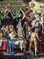 火星と金星が神々に捕まった   Joachim Eyteval