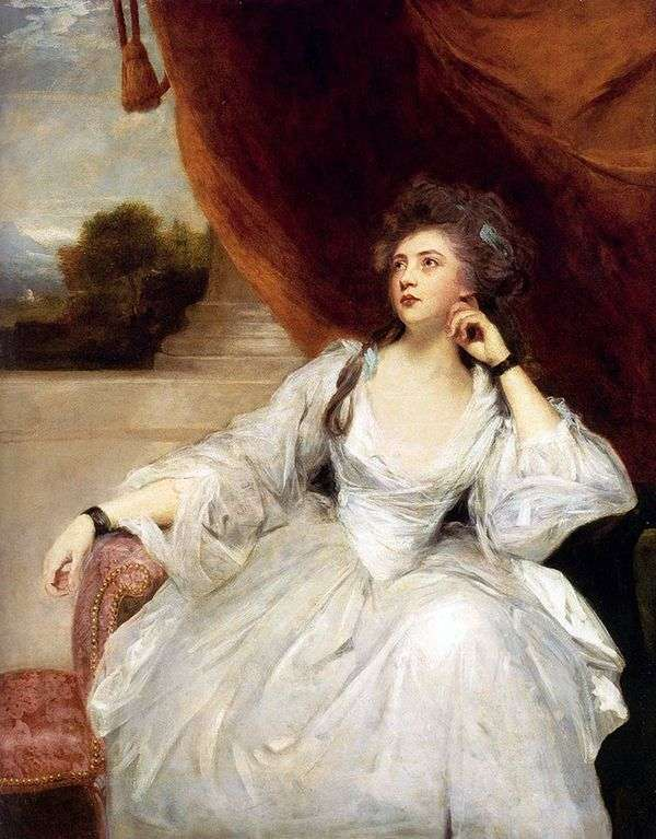 スタンホープ夫人の肖像   レイノルズ・ジョシュア