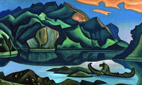 埋められた宝   Nicholas Roerich