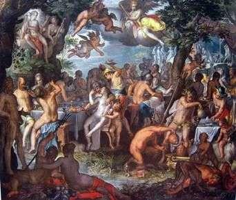 ペレウスとテティスの婚約   ヨアヒム・アイテバル