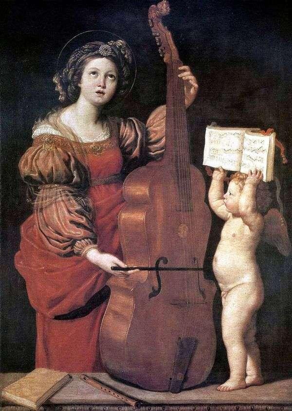 ミュージックセント 天使とセシリア   Domenichino Dzampieri