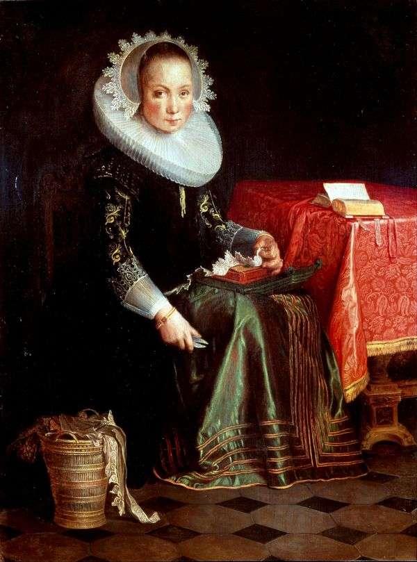 Eva Eyteval   Joachim Eytevalの肖像