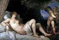 Danae   Titian Vecellio