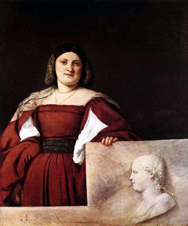 女性の肖像   Titian Vecellio